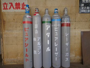 溶接用混合ガス、レザー切断用混合ガス等